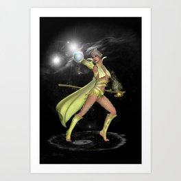 The Enchantress .. fantasy Art Print