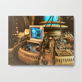 Console room Metal Print
