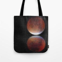 Super blood moon Tote Bag