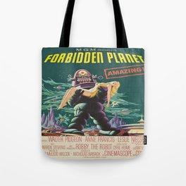 Vintage poster - Forbidden Planet Tote Bag