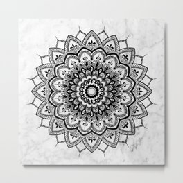 Pleasure Marble Metal Print