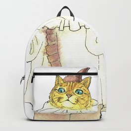 Clown Cat Backpack