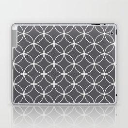 Circles Graphite Gray Laptop & iPad Skin