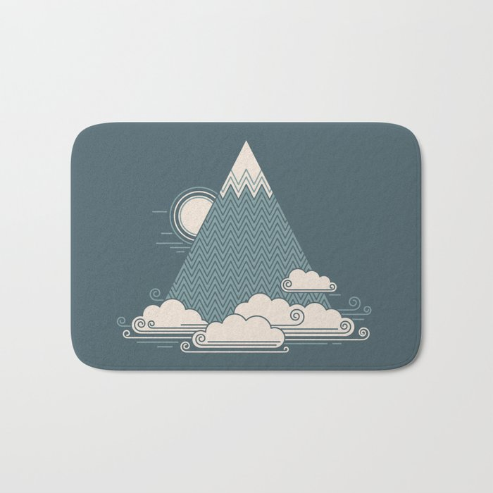 Cloud Mountain Bath Mat