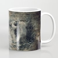 winchester Mugs featuring Dean Winchester by Sirenphotos