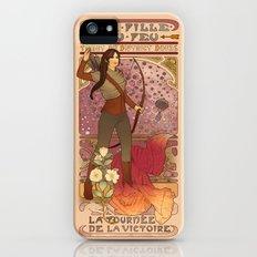 La fille du feu iPhone (5, 5s) Slim Case