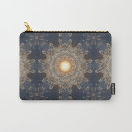 Blue yellow mandala Carry-All Pouch