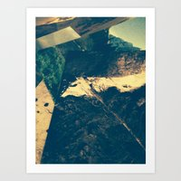 parks Art Prints featuring Parks Pile by Cameron Waff