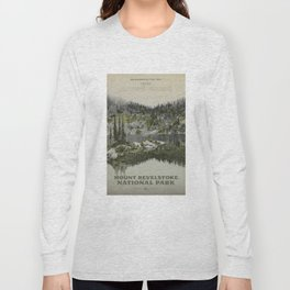 Mount Revelstoke National Park Long Sleeve T-shirt