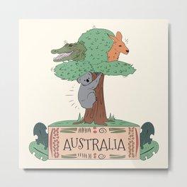 Wild Australia Metal Print