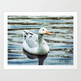 Spring Goose Art Print