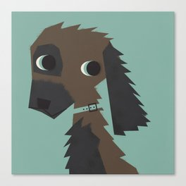 Dog_03 Canvas Print