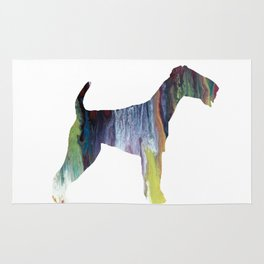 Airedale terrier Rug