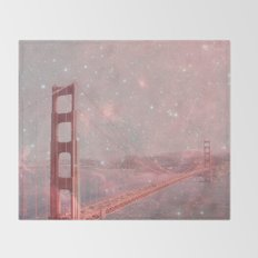 Stardust Covering San Francisco Throw Blanket
