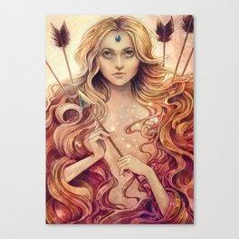 Zodiac Stagittarius Canvas Print