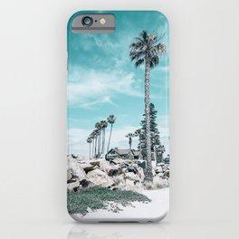 Beach Day on Coronado Island, San Diego, California iPhone Case