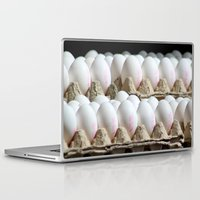 eggs Laptop & iPad Skins featuring EGGS by Avigur