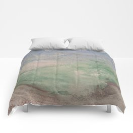 Informal texture two Comforters