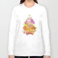 bubblegum Long Sleeve T-shirts featuring Bubblegum by Saravo Studio