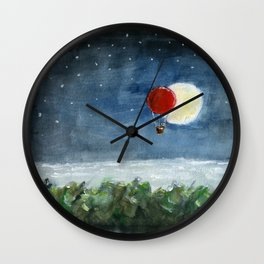 Moon Eclipse Wall Clock