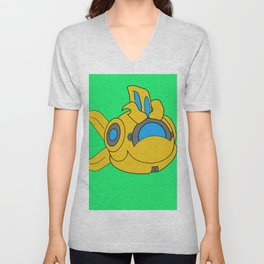 Happy Probius Unisex V-Neck