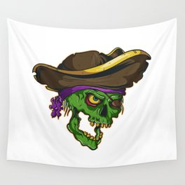 Art of a bloodthirsty pirate Wall Tapestry