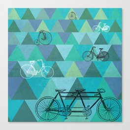 Tour de'Triangle Canvas Print