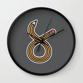 Lápiz Wall Clock