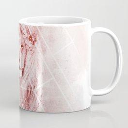 Sacred Majestic Red Lion Spirit Animal Coffee Mug