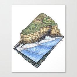 Pointreef Canvas Print