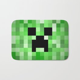 Creepy Creeper! Bath Mat