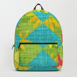 Springtime Floral Argoyle Backpack