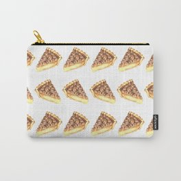Watercolor Pecan Pie Pattern Carry-All Pouch