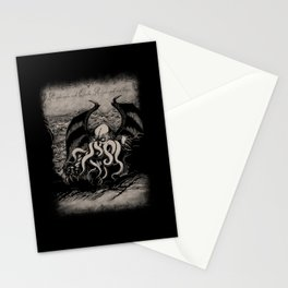 The Rise of Great Cthulhu Stationery Cards