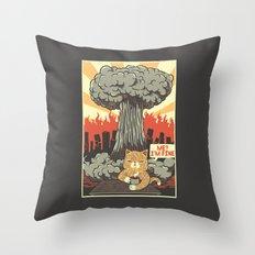 Im Fine Cat Throw Pillow