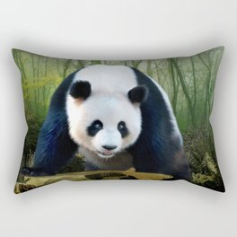 The Giant Panda Rectangular Pillow