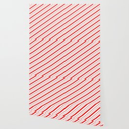 Candy Cane Stripes Wallpaper