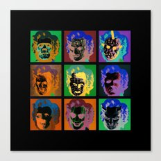 Horror Pop Canvas Print