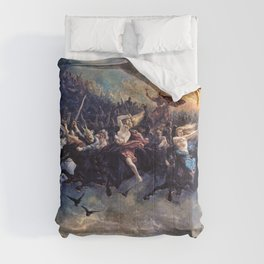 Peter Nicolai Arbo - The Wild Hunt of Odin - Digital Remastered Edition Comforters