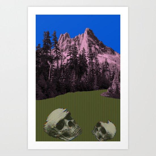 Archeology Art Print