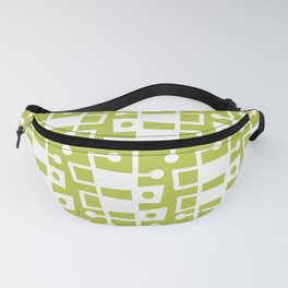 Mid Century Modern Abstract 214 Chartreuse Fanny Pack