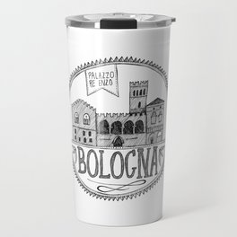 Palazzo Re Enzi, Bologna Travel Mug