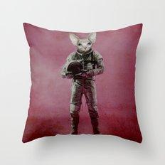 The dreamer Throw Pillow
