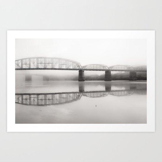 Rivers Bend Art Print