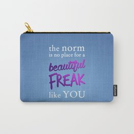 Beautiful Freak Carry-All Pouch