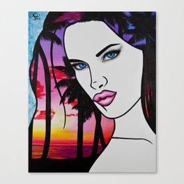 Brazilian Kiss Canvas Print