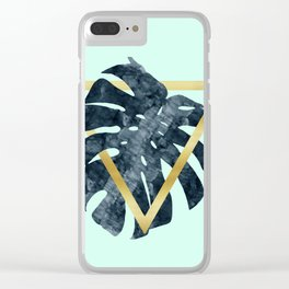 Fahion and tropical Clear iPhone Case