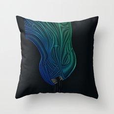 Alien - H.R. Giger Tribute Throw Pillow