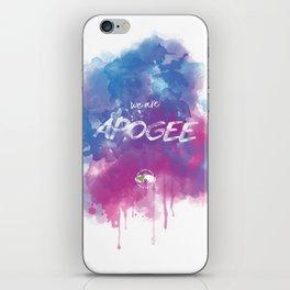 WE ARE APOGEE iPhone Skin