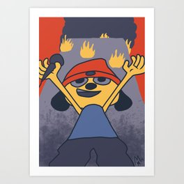 Uh yes, welcome to the fire Art Print